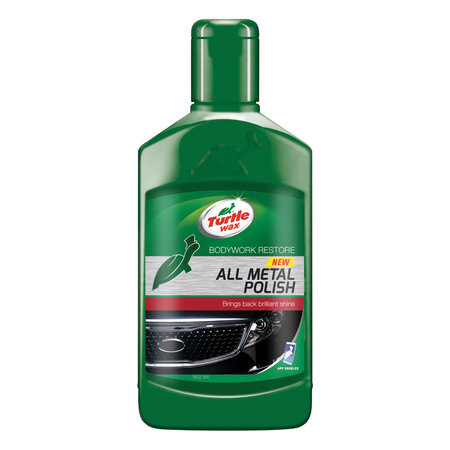 TURTLE WAX ALL METAL POLISH 300ML