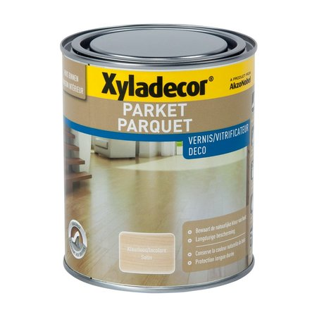 XYLADECOR VERNIS PARKET ACRYL SATIJN 750ML