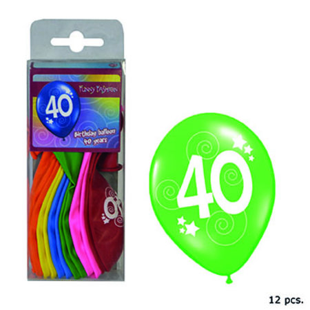 FUNNY FASHION BALLON -40J- S/12