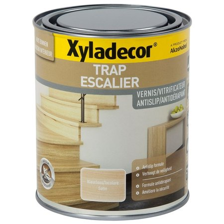 XYLADECOR TRAP VERNIS ANTISLIP SATIN KLEURLOOS 750