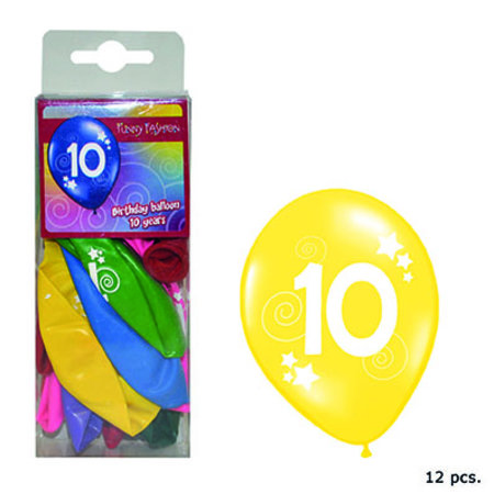FUNNY FASHION BALLON -10J- S/12