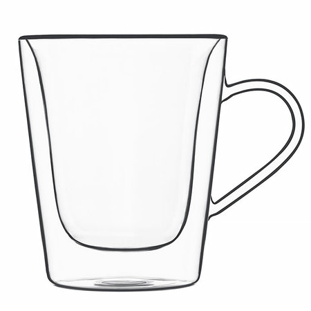 BORMIOLI THERMIC GLASS KOFFIE -EN THEE MUG 22CL S/