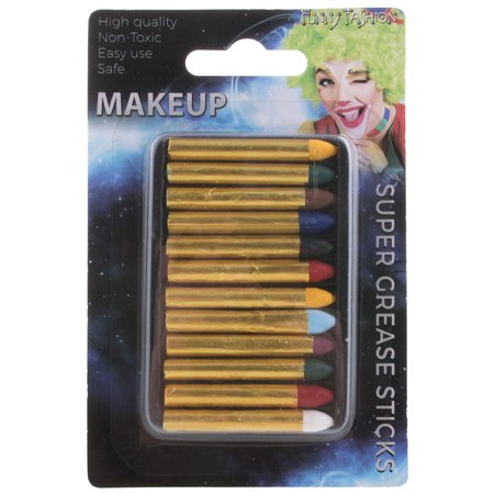 FUNNY FASHION MAKE UP SET 12 STIFTJES