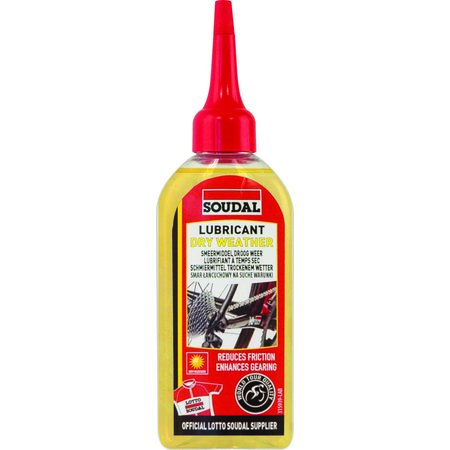 SOUDAL BIKE DRY WEATHER LUBRICANT 100ML