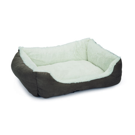 MAND LIGBED BABOO KAT GRS/GRS 48X37X18CM PROMOTIE