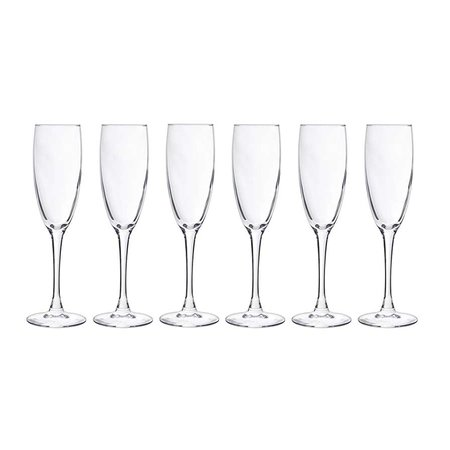 CHAMPAGNEGLAS COSY MOMENTS 19CL S/6 FOLDER