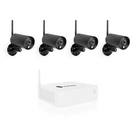 CAMERA SET SMARTWARES DRAADLOOS 4 CAM.1080P HD OD