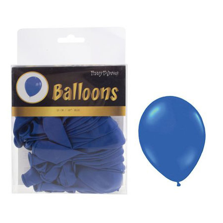 FUNNY FASHION BALLON 10INCH S/40 BLAUW