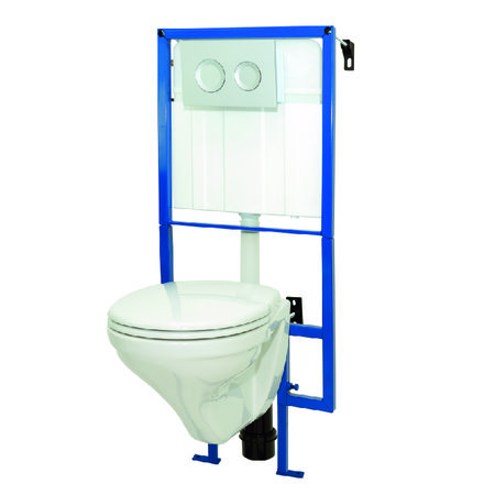 HANGTOILET MET INBOUWSYSTEEM LIVE UP