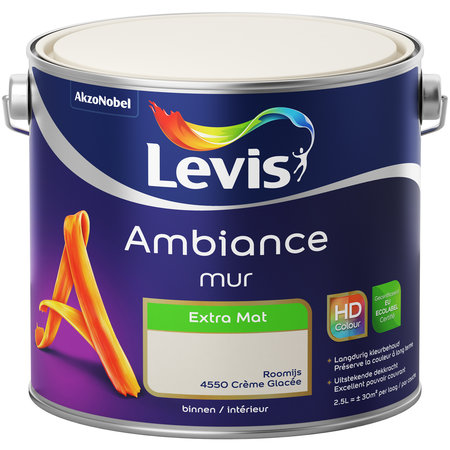 AMBIANCE MUUR EXTRA MAT 4550 2.5L