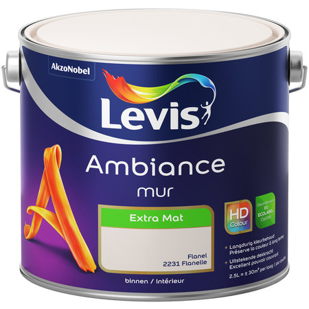 AMBIANCE MUUR EXTRA MAT 2231 FLANEL 2.5L