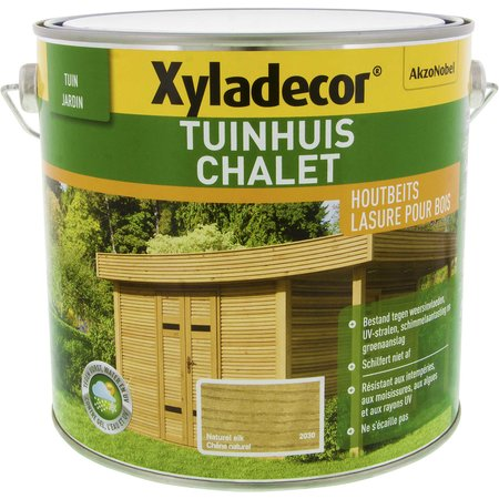 XYLADECOR TUINHUIS NATUREL EIK 2.5L